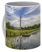 Cape May Lighthouse From The Pond Coffee Mug