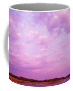 Cape May Point State Park Lanscape And Clouds Coffee Mug