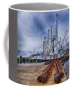 Cape May Scallop Fishing Boat Coffee Mug