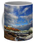 Cape Neddick Lighthouse Coffee Mug by Rick Berk