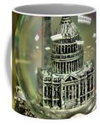 Capital Snow Globe  Coffee Mug