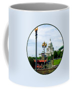 Capitol Building Seen From Waterplace Park Coffee Mug by Susan Savad