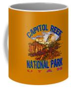 Capitol Reef National Park Utah Coffee Mug