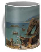 Capri Beach Coffee Mug