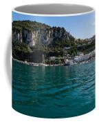 Capri Island Silky Smooth Emerald And Aquamarine Coffee Mug