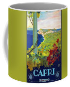Capri, Italy, Italian Riviera, Scenery Coffee Mug