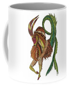 Capricorn Coffee Mug by Barbara McConoughey