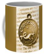 Capricorn Zodiac Lucky Charm Coffee Mug