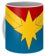 Captain Marvel Logo Coffee Mug