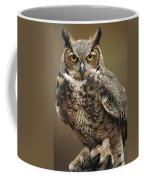 Captive Great Horned Owl, Bubo Coffee Mug by Raymond Gehman