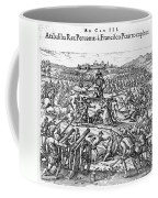 Capture Of Atahualpa, 1532 Coffee Mug