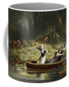 Capture Of The Daughters Of Daniel Boone And Richard Callaway By The Indians Coffee Mug
