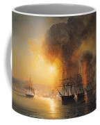 Capture Of The Fort Of Saint Jean Dulloa On 23rd November 1838 Coffee Mug by Jean Antoine Theodore Gudin