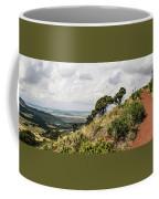 Capulin Volcano View Panorama New Mexico Coffee Mug