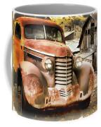 Car Full Of Memories, Ghost Town, Jerome, Arizona Coffee Mug