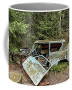 Car Graveyard In Smaland Coffee Mug