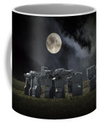 Car Henge Under The Moonlight Coffee Mug