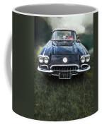 Car On The Grass Coffee Mug