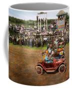 Car - Race - On The Edge Of Their Seats 1915 Coffee Mug
