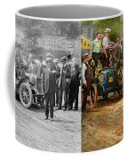Car - Race - The End Of A Long Journey 1906 - Side By Side Coffee Mug