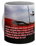 Car Reflection With Text 4 Coffee Mug