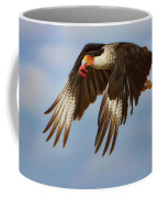 Caracara In Flight Coffee Mug
