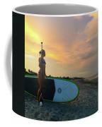 Carbon Fiber Paddle Sup Coffee Mug