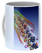 Carbon Nanotube, Ions And Dna Coffee Mug
