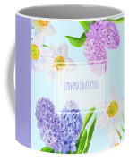 Card With Spring Flowers Coffee Mug