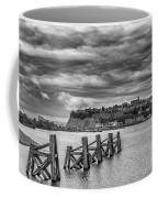 Cardiff Bay Dolphins Mono Coffee Mug