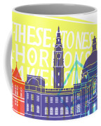 Cardiff Skyline Pop Coffee Mug