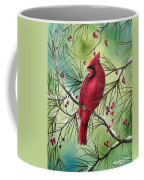 Cardinal Coffee Mug by David G Paul