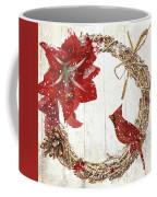 Cardinal Holiday II Coffee Mug