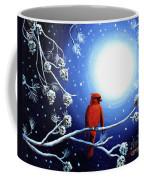 Cardinal On Christmas Eve Coffee Mug