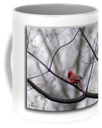 Cardinal Perched On A Branch Coffee Mug