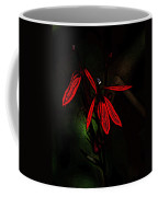 Cardinal  Plant Woodcut Coffee Mug