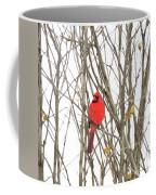 Cardinal Resting Coffee Mug