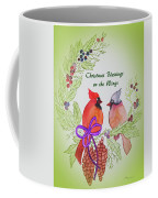 Cardinals Painted By Marcie Taylor  Coffee Mug