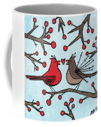 Cardnials In Love Coffee Mug