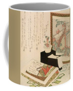 Cards Fukujuso Flowers And Screen Coffee Mug