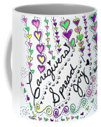 Caregivers Spread Joy Coffee Mug