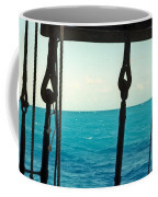 Caribbean From A Square Rigger Coffee Mug