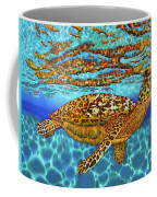 Caribbean Hawksbill Sea Turtle Coffee Mug