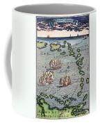 Caribbean Map Coffee Mug
