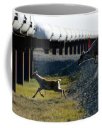 Caribou Cow And Fawn Coffee Mug