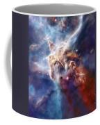 Carina Nebula Pillar Coffee Mug