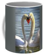 Caring Swans Coffee Mug