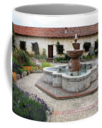 Carmel Mission Courtyard Coffee Mug