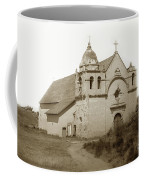 Carmel Mission  With The New Peaked Roof  1884 Coffee Mug
