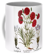 Carnation & Lavender, 1613 Coffee Mug